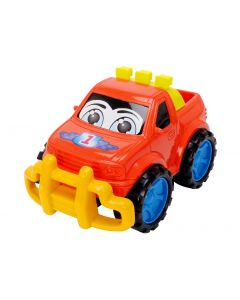 Dickie Toys plastbiler Rød Truck