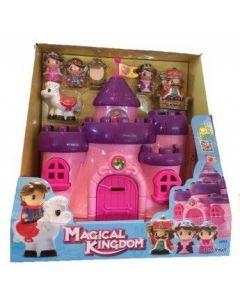 Magical Kingdom - Slott med 4 figurer og 1 hest