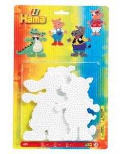 Hama Midi perlebrett - dyr