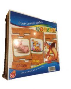 Clementoni Ordene - I bokstavenes Verden