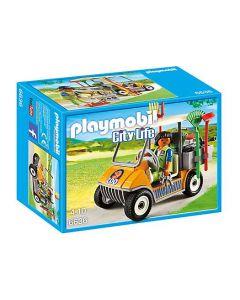 Playmobil dyrepasser med bil