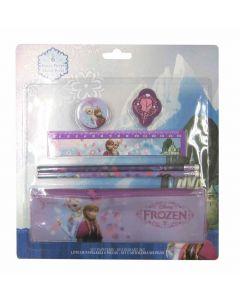 Disney Frozen sett med skrivesaker - 6 deler