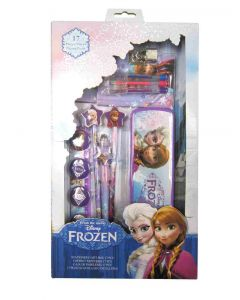 Disney Frozen sett med skrivesaker - 17 deler