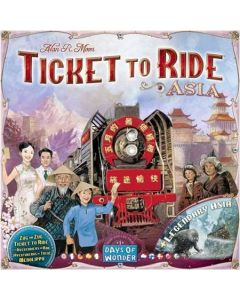 Ticket to Ride Asia - tilleggspakke