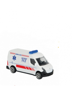 Majorette S.O.S biler 7.5 cm - Ambulanse