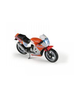 Majorette motorsykkel - oransje og grå