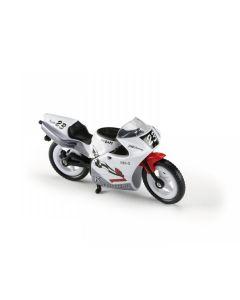 Majorette motorsykkel - hvit