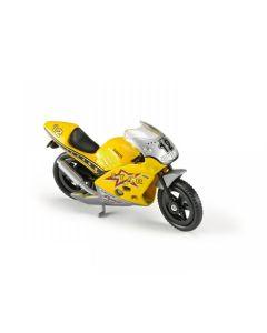 Majorette motorsykkel - gul
