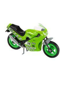 Majorette motorsykkel - grønn