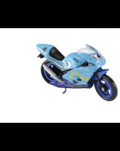 Majorette motorsykkel - lys blå