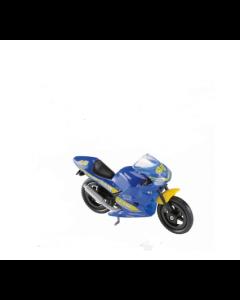 Majorette motorsykkel - blå og gul