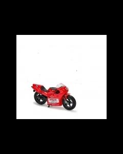 Majorette motorsykkel - rød