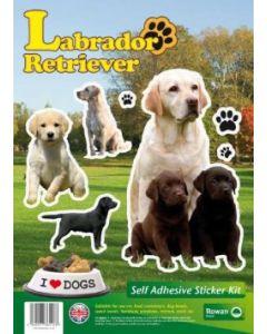 Labrador Retriever klistremerker 2stk.