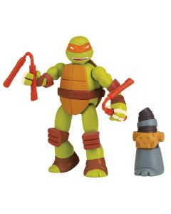 Turtles Mutations Mix&Match figur 12cm - Mikey