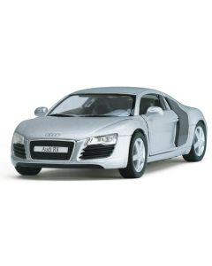 Audi R8 1:36 lys grå
