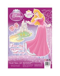 Disney Princess Wall Stickers - klistremerker
