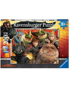 Ravensburger puslespill How to train a Dragon - 200 biter
