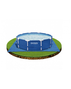Intex underlagsmatte for runde basseng 472 cm