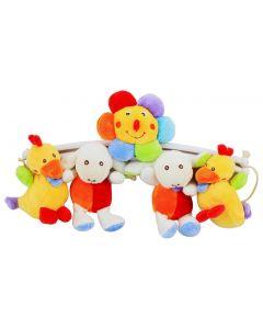 Musikalsk Uro med små bamser