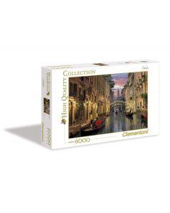 Clementoni puslespill - 6000 biter - Venice