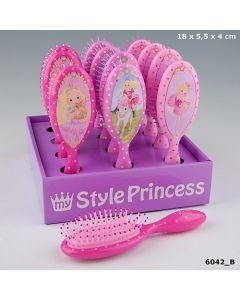 My Style Princess hårbørste - lys rosa med ballerina