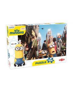 Minions puslespill 200 deler