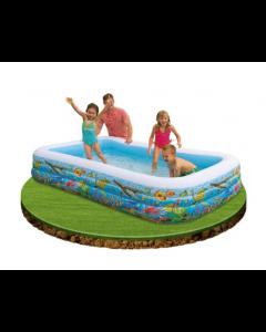 Intex basseng med fiskemotiv - 1000 liter