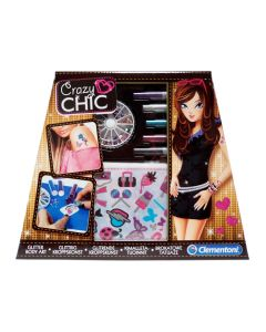 Clementoni Crazy Chic glitter body art