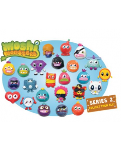 Moshi Monsters 10 Moshlings set - serie 2