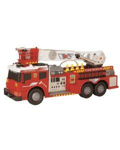 Brannbil med lyd og lys - 62cm - norsk versjon