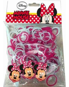 Disney Minnie Mouse loom bands