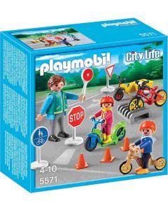 Playmobil barn med vakt 5571