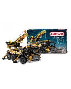 Meccano crane truck