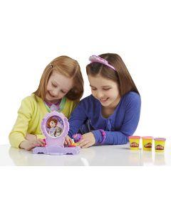 Play-Doh Disneys Sofia den første amulett- og smykkelekesett.