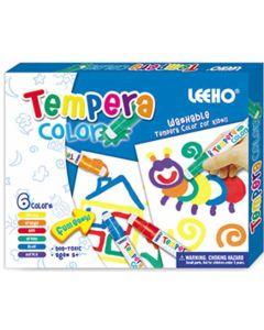 Tempera fargesett - 6 farger