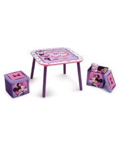 Disney Minnie bord med 2 stoler