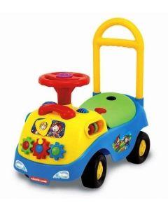 Kiddieland Interaktiv lær-å-gå bil