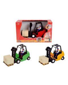 Truck oransj - 19 cm med friksjon