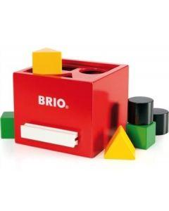 BRIO klassisk putteboks - rød - 33148