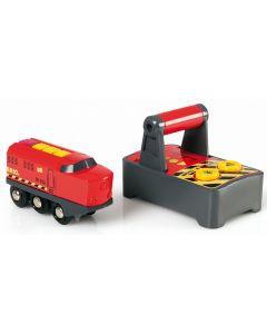 BRIO RC-lokomotiv med kontroll