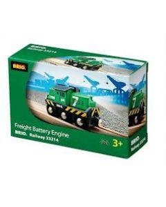 BRIO Tunglasttog - batteridrevet - grønt