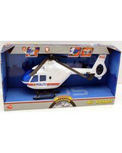 Politihelikopter m/ Lyd og Lys