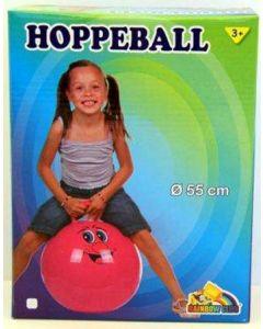 Hoppeball - rosa - 55 cm