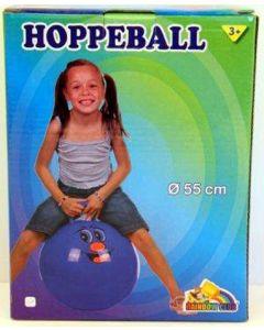 Hoppeball - blå - 55 cm