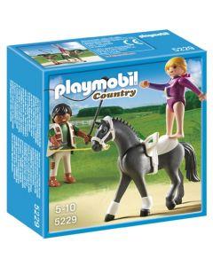 Playmobil dressurhest