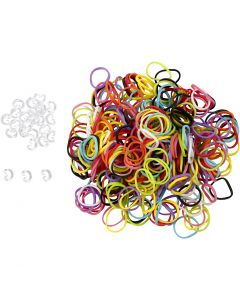 Rainbow Loom bands - Mix color