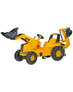 RollyToys Cat Traktor - plasthjul