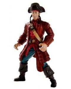 Kaptein Sabeltann Langemann figur - 11 cm
