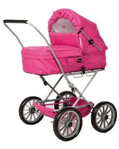 BRIO Gull dukkevogn - rosa