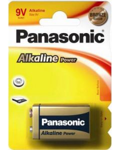 Panasonic 9V Alkaline batteri